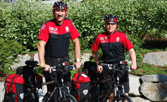 Emergency Medical Service (EMS) Bicycle Response Team