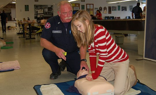 Community Involvement - Free CPR Instruction