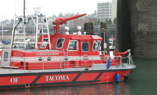 Marine Protection - Fireboat Commencement