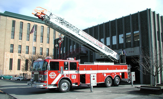 Aerial Ladder Apparatus - Fire Headquarters