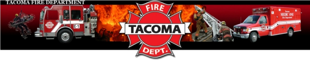 Tacoma Fire Department Logo Banner